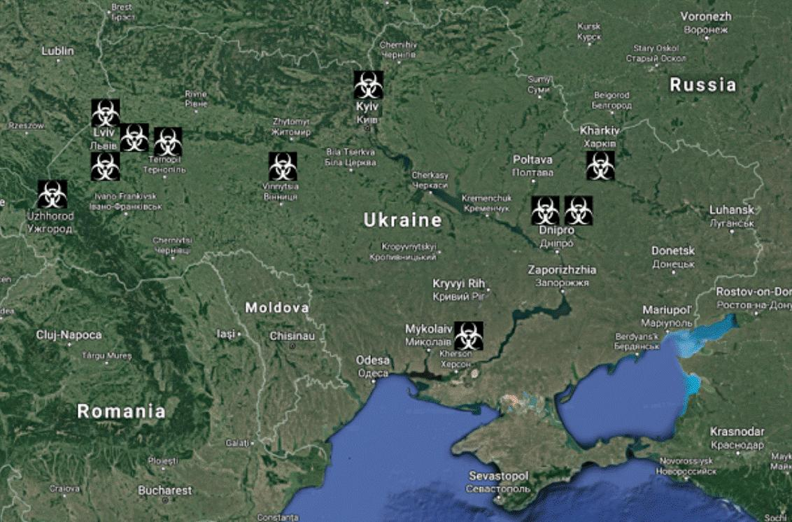 People of Ukraine Secretly Dying after US Biological Labs were Built in Many Cities